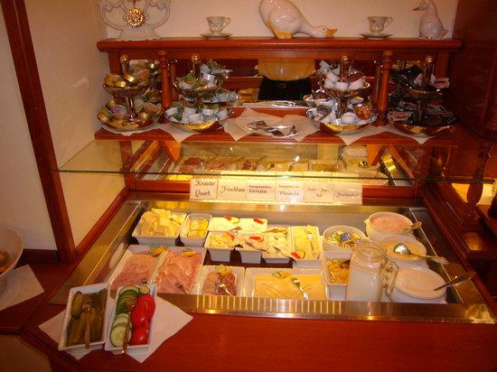 Klassik Hotel am Tor: Frühstücksbuffet