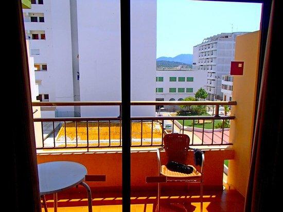 Ibiza Rocks Apartments : Balcony