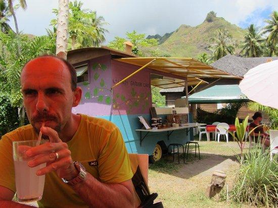 Lilikoi Garden Café : la roulotte