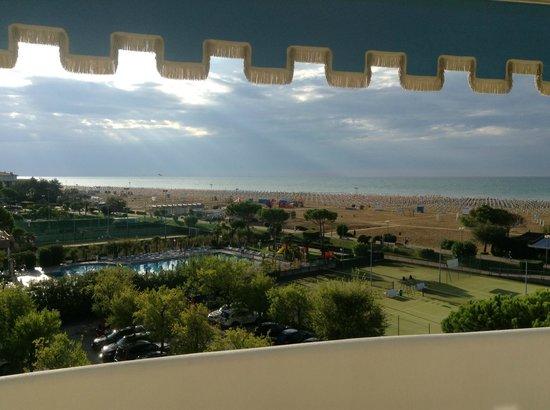 Hotel Corallo: Vista dalla camera