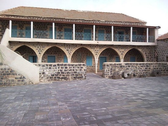 Kfar Kama, Израиль: The Circassian Museum - Internal courtyard