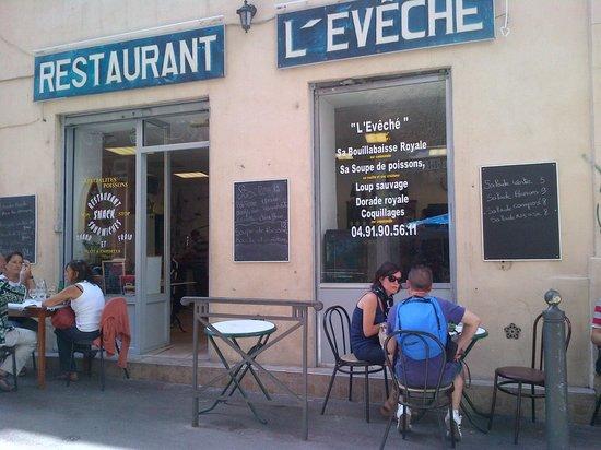 Restaurant l 39 eveche chez annie marseille restaurant - Office du tourisme marseille telephone ...