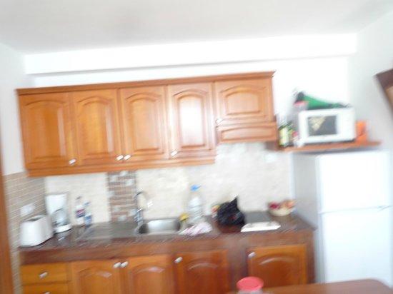 Apartamentos J.B. : køkken