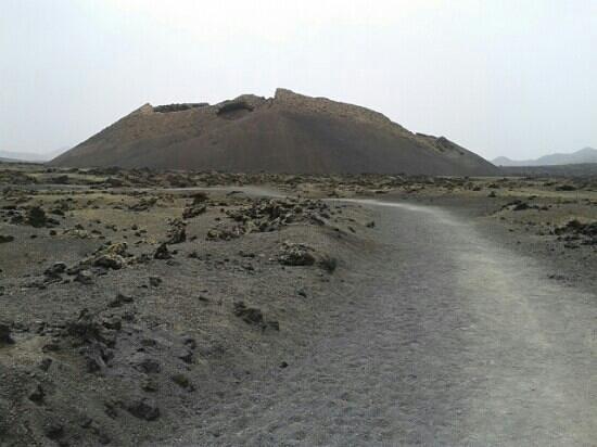 Volcán del Cuervo: strada sterrata