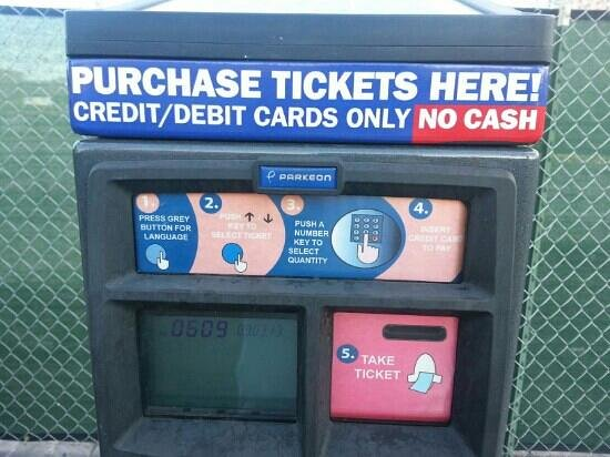 The Deuce : close look at one of the ticket vending machines of Deuce
