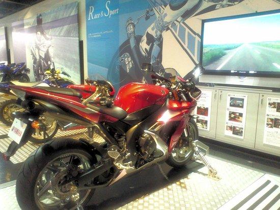 Communication Plaza: バイクのシュミレーション