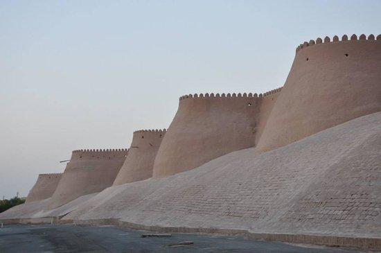 Citadel Kunya-ark: Le mura di fango di Khiva