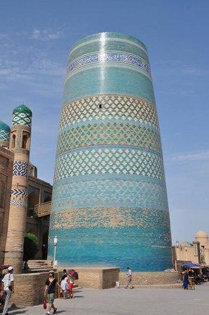 Citadel Kunya-ark: Il blu di Khiva