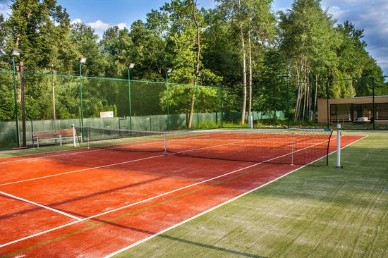 Motel Dlouha Louka: Tenis court