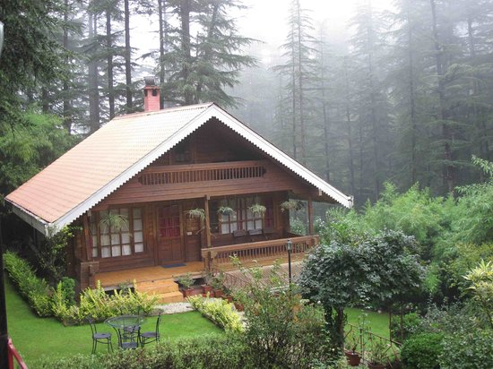 The Chalets Naldehra: picture perfect