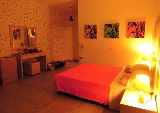 Hotel Porto Belissario : Chambre
