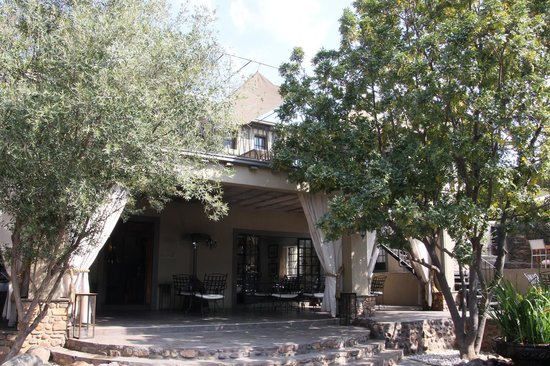 Olive Grove: Open dining place, protected with canvax