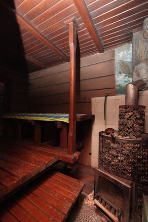 Bona Village Inn: Sauna Room