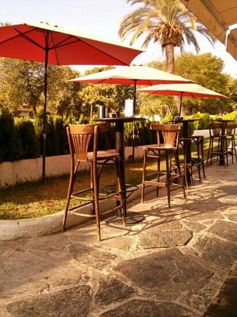 Pan & Mermelada: terraza de Pan y Mermelada