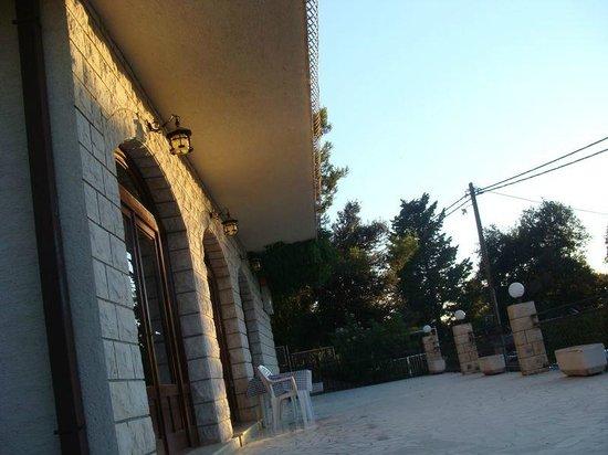 Villa Teresa: taras