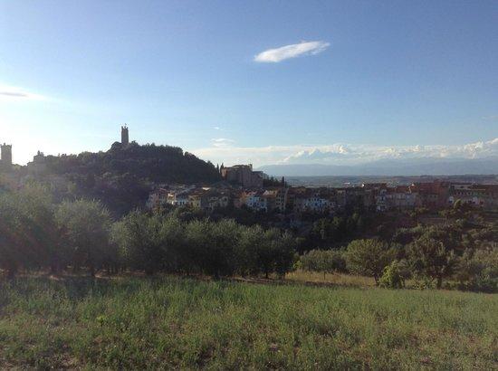 Walking To San Miniato: View of the town