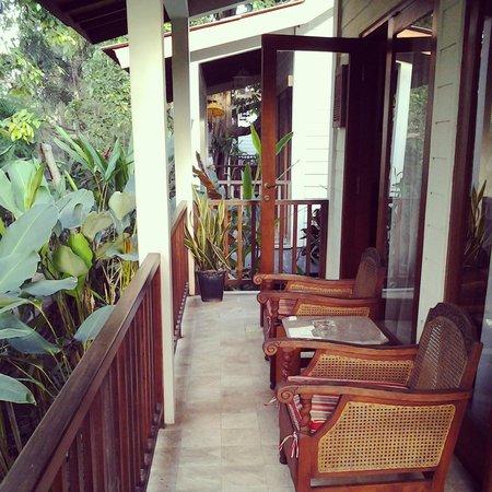 The Studio Bali: terrace