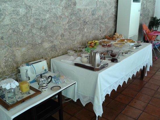 Quinta de Malta: el desayuno muy bueno