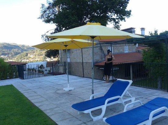 Quinta de Malta: zona de piscina