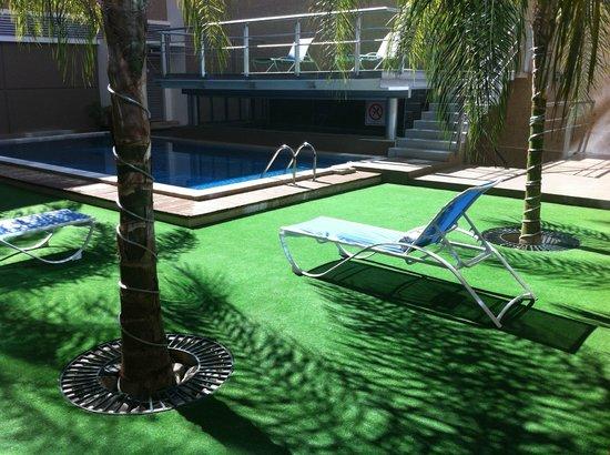 Hotel El Espanol Paseo de Montejo : zona piscina