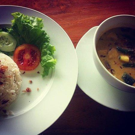 Cafe Canggu: Good rice & soup