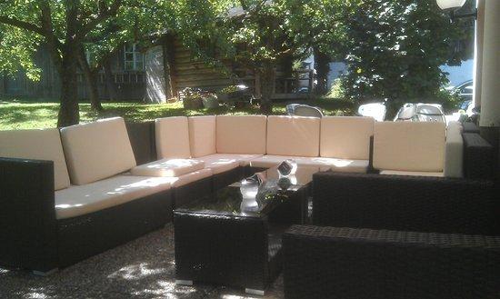 Hotel Pension Siegelerhof: Seating area