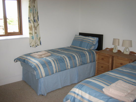 Hendre Barns: Delfryn - Twin Bedroom