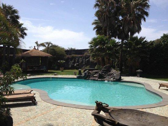 Casa Tomaren: La piscina