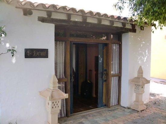Casa Tomaren: L'esterno della nostra camera