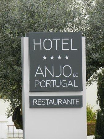 Hotel Anjo de Portugal: Ingang.