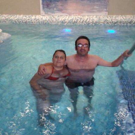 Hotel San Valentino Terme: piscina termale
