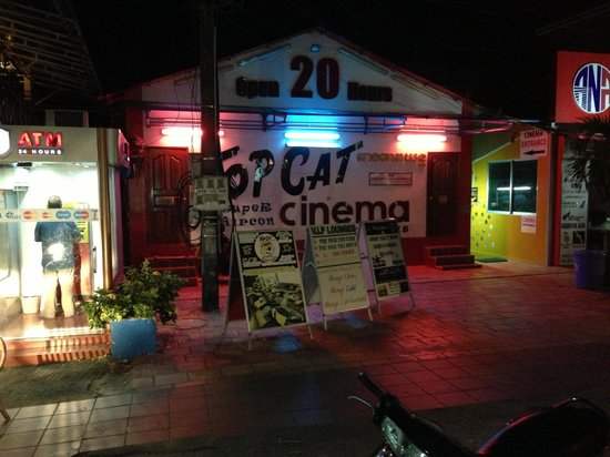 Top Cat Bar & Lounges: the street front at TOP CAT