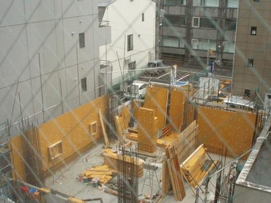 Sotetsu Fresa  Inn Nihombashi Ningyocho : Bako building site from my room