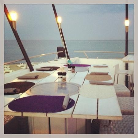Barco Beach Restaurant: soiree d'aout