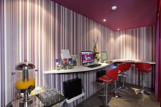 Bliss Boutique Hotel: IT Corner