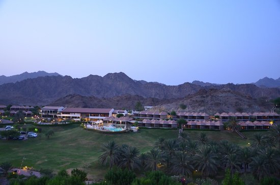 JA Hatta Fort Hotel: View from the top