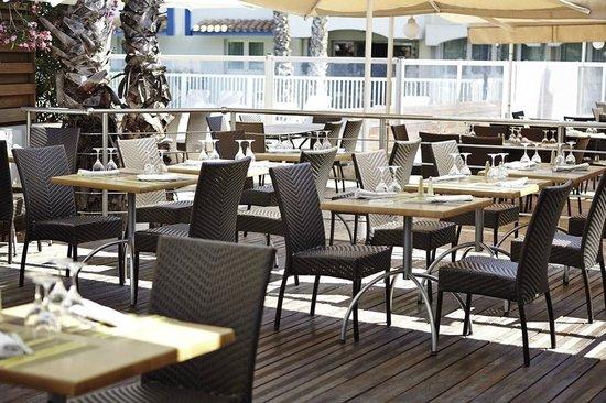 Novotel Montpellier : Terrasse