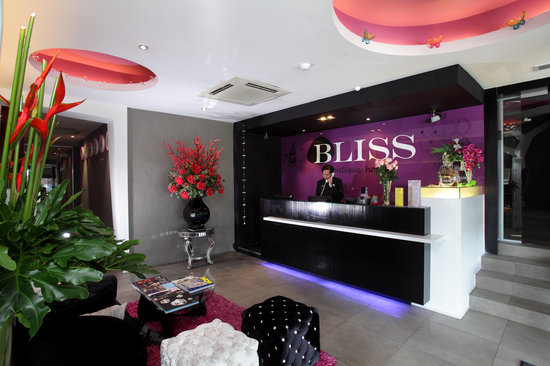 Bliss Boutique Hotel : Hotel Lobby