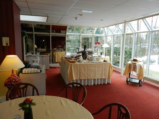 Restaurant Hotel Wyllandrie: Ontbijt ruimte.