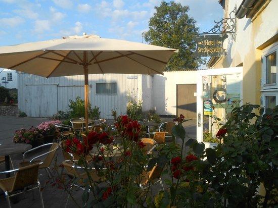 Hotel Svedskegyden: Pleasant outdoor patio