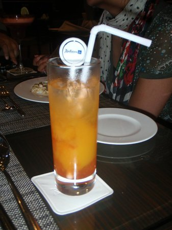 Radisson Blu Hotel Ahmedabad: Mocktail!