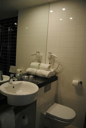 Holiday Inn Express Rotterdam - Central Station : lavabo e water attaccati