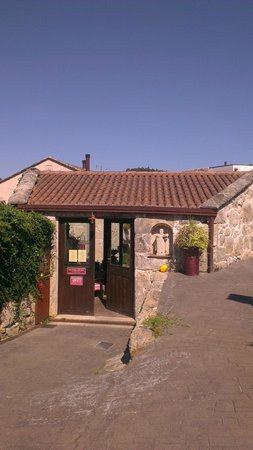 Hotel Quinta de San Amaro: Entrada