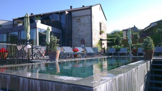 Hotel Quinta de San Amaro: Piscina