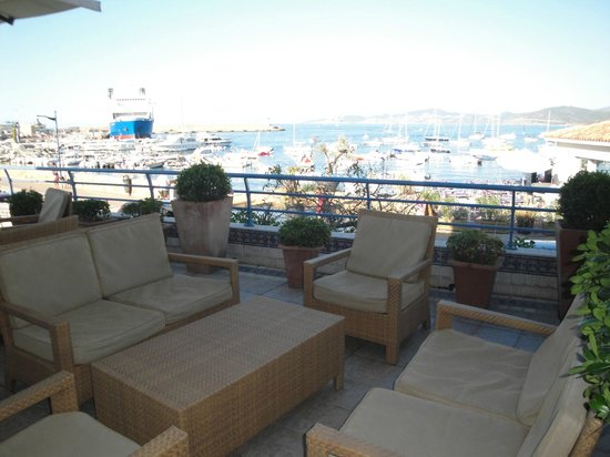 Best Western Santa Maria : veranda hotel