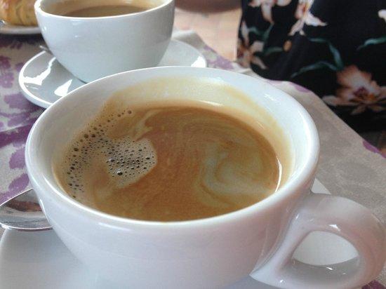 Villa della Porta: Breakfast coffee