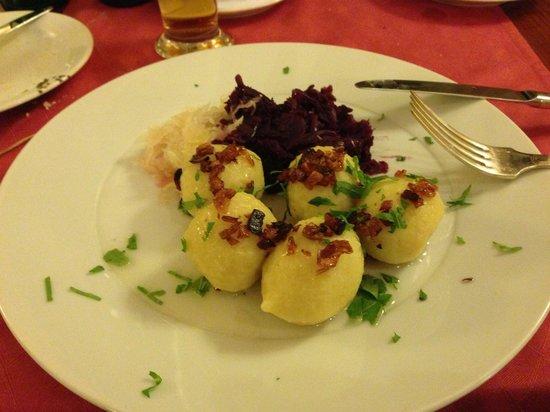 Best Western Hotel Kinsky Garden: Piatto locale