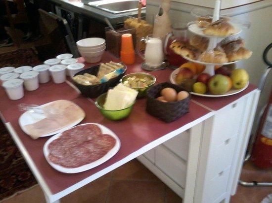 Trevispagna B&B : The breakfast