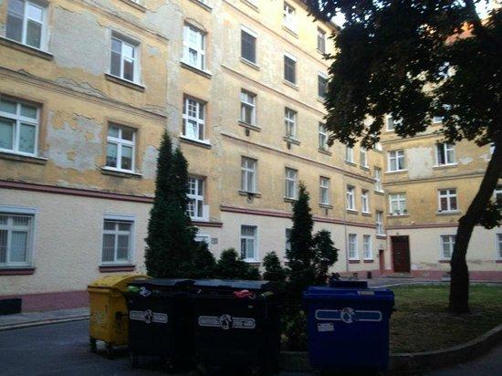 Apartments Blue Danube: entrance