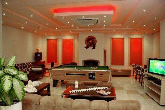 Dionysos Studios: playroom by the reception